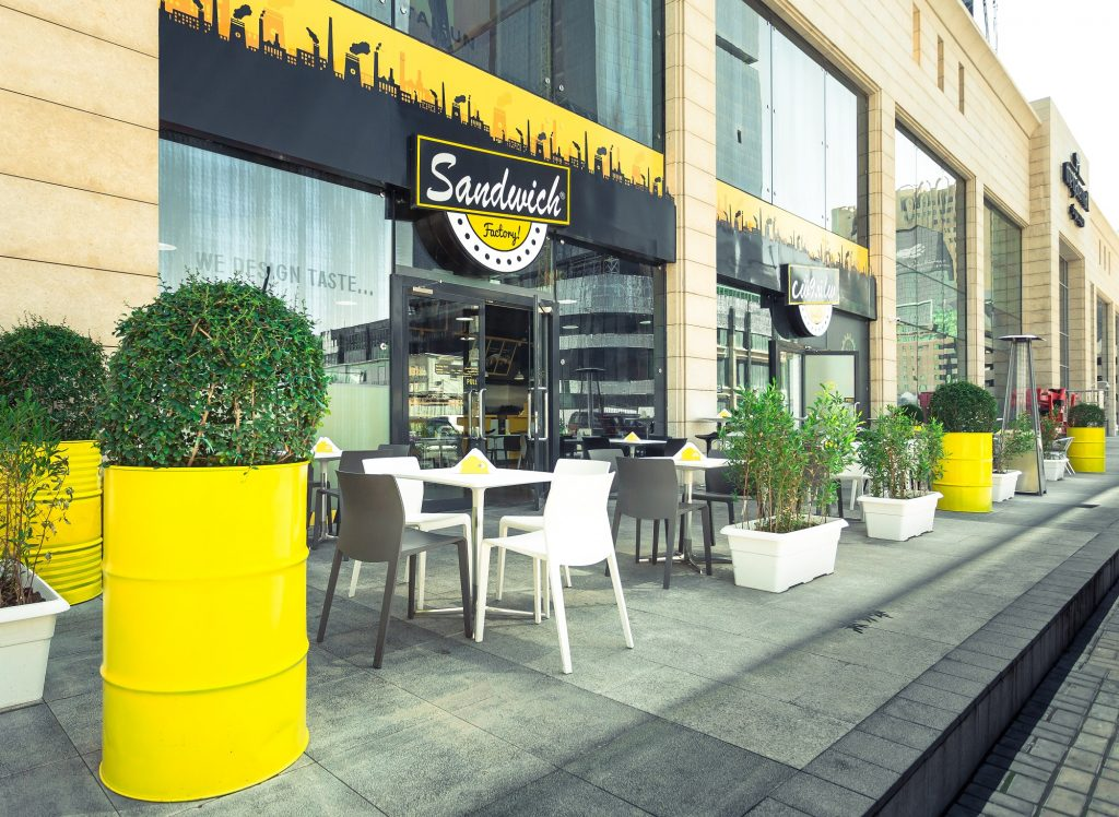 Sandwich Factory in the Gate Mall Doha